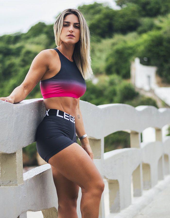 Top Legbox Pink/Black