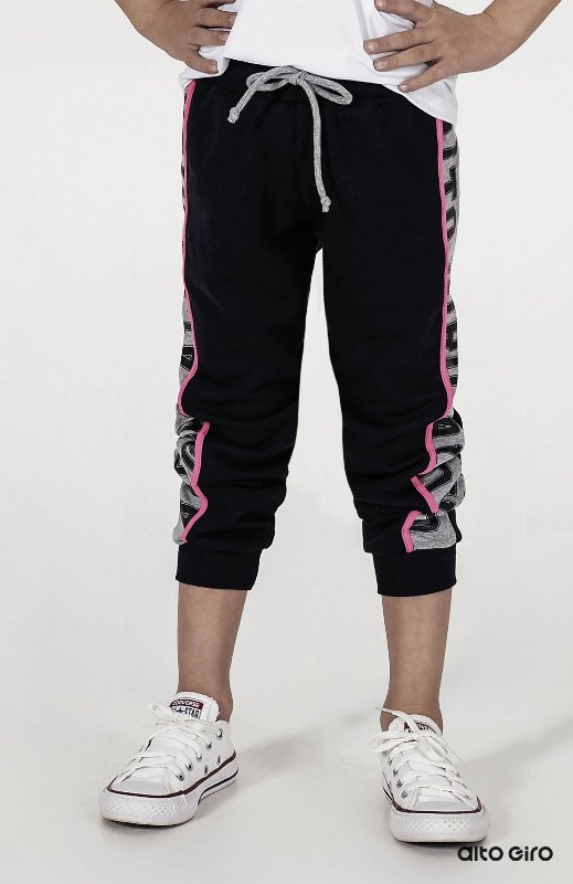 Calça Fleece Alto Giro Kids