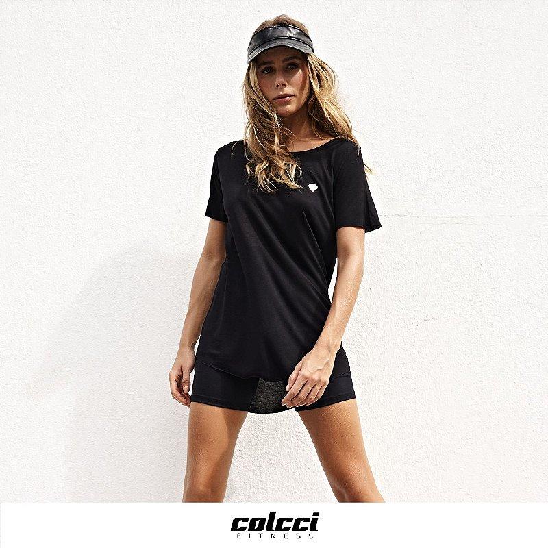 Camiseta Longa Colcci
