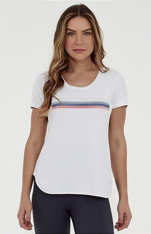 T-Shirt Alto Giro Skin Fit Inspiracional