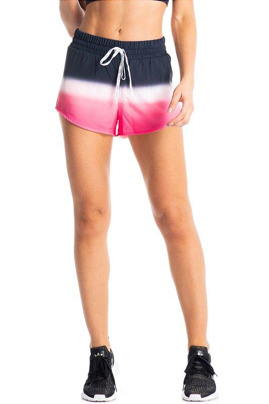 Shorts Vivame Trainer Degrade Rosa