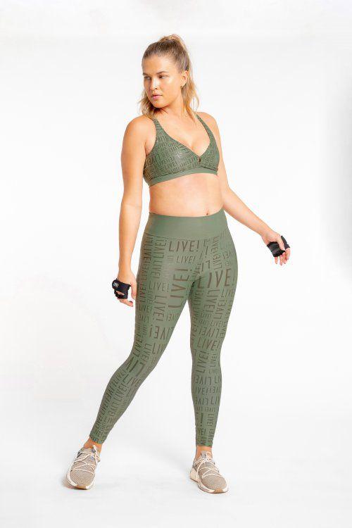 Calça Legging LIVE! Essential Verde