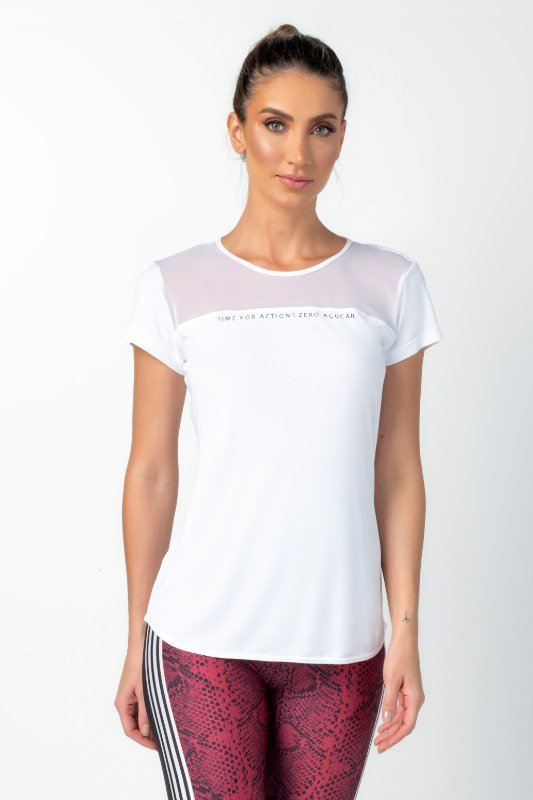 T-Shirt Zero Acucar Alongada Laufen