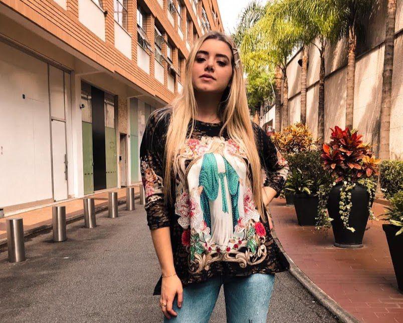 b1690516d Anemess - Blusa ampla Nossa Senhora das Graças - TAMANHO UNICO - VESTE DO P  AO
