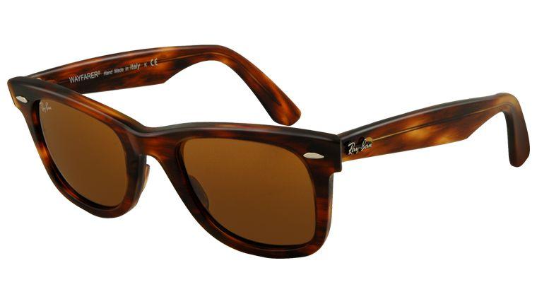 a32c6ea5dc68b Óculos De Sol Ray Ban Wayfarer Rb2140 902 54 Tartaruga Lente Marrom. Óculos  De Sol ...