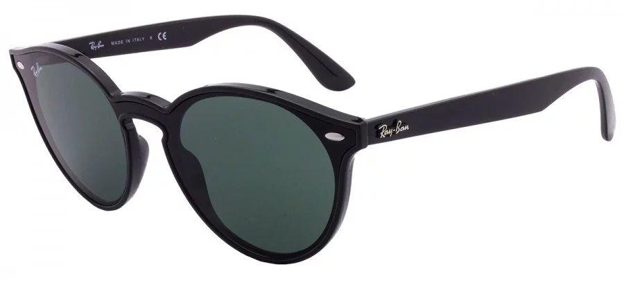 f7cabb1fd74ae Óculos de Sol Ray Ban Blaze Rb4380n - Preto Brilhoso. Óculos de Sol Ray Ban  Blaze Rb4380n - Preto ...