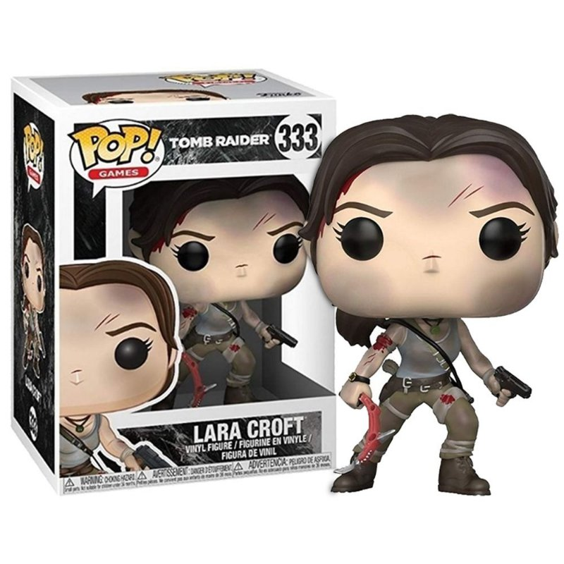 Tomb Raider Lara Croft Toy Figure Funko POP Games