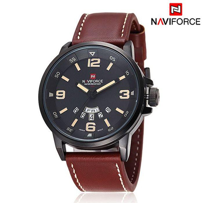 3140065fcb9 Relógio Casual NAVIFORCE - 3 cores - MANDORAS