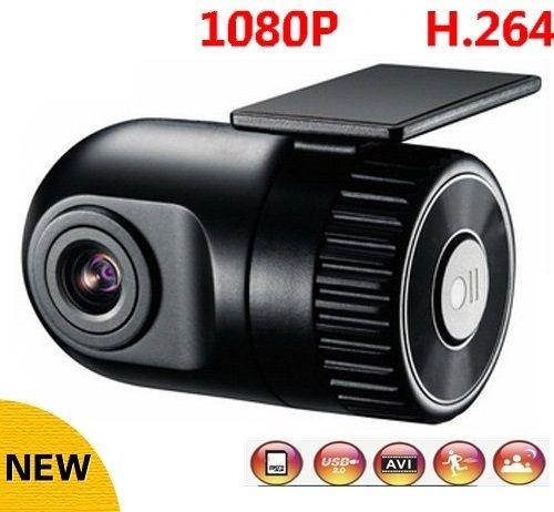 Mini Câmera Carro FullHD 1080p Lente 120º