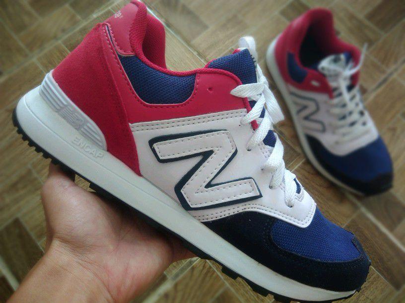 61adcdd12f2 New Balance 574 Azul Vermelho 38 Ao 43 - Crey Shop