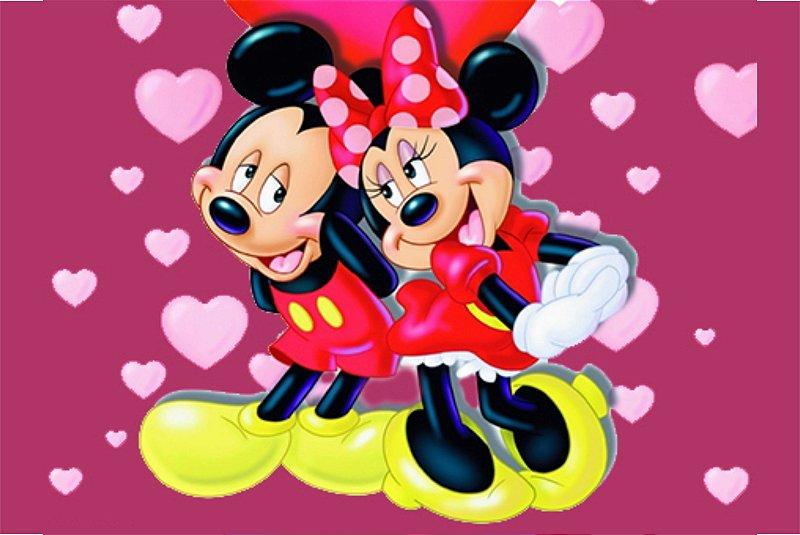Tapete Mickey e Minnie