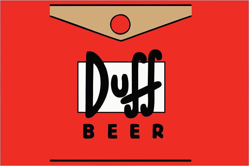 Tapete Duff Beer