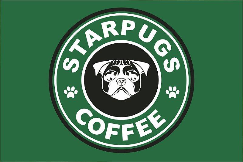 Tapete Star Pugs