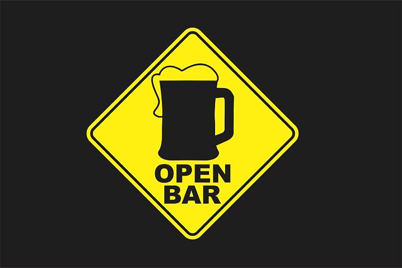 Tapete Open Bar