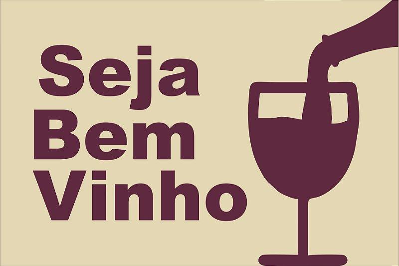 Tapete seja bem vinho