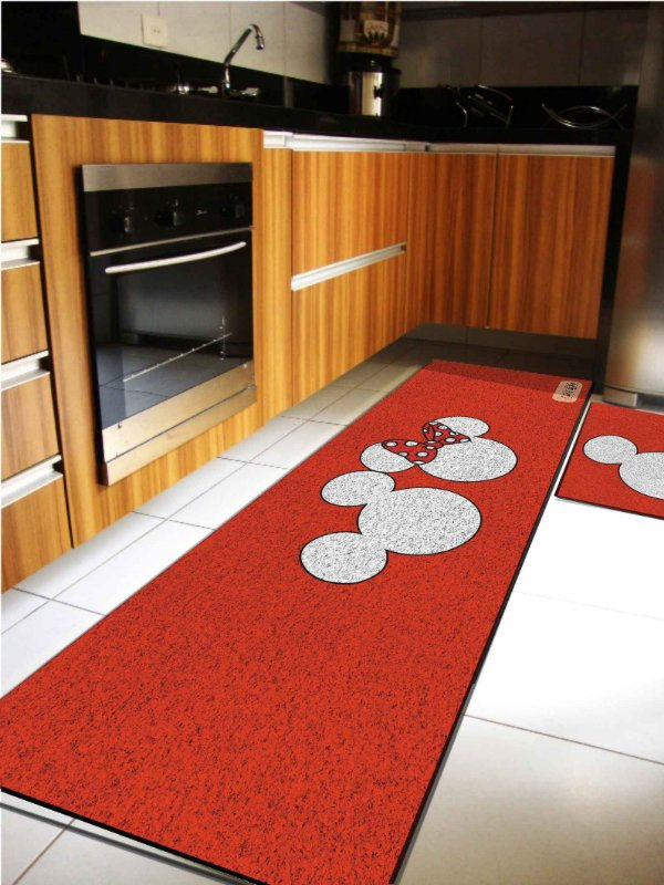 Kit Cozinha Mickey Vermelho