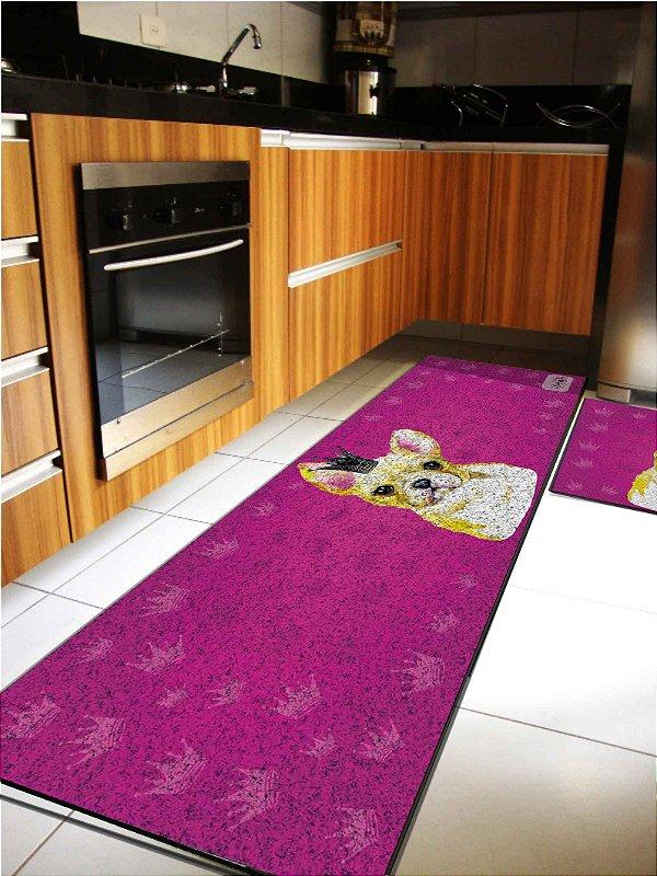Kit cozinha pet coroas