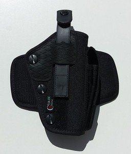 Coldre de cintura parafuso com porta lanterna