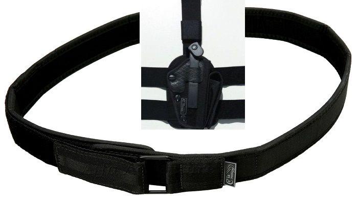 Kit, Coldre + Cinto guarnição - promoção