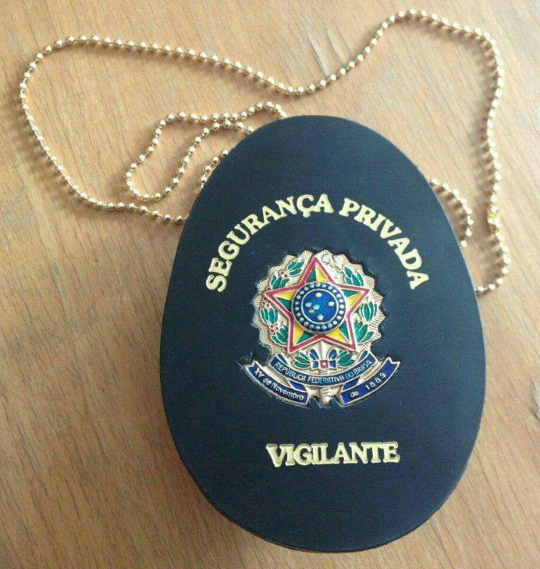 Distintivo Segurança Privada Vigilante