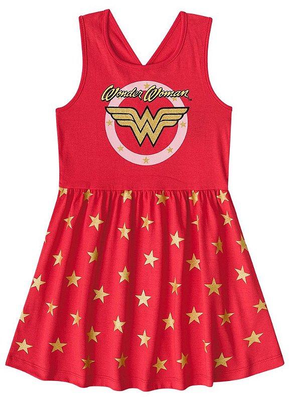 1963a4133 Vestido da Mulher Maravilha - Liga da Justiça- Vermelho 4
