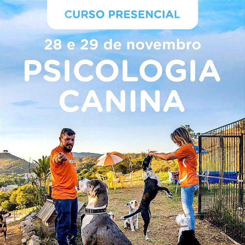 INSCRIÇÃO: Curso de Psicologia Canina do Ledog - 28 e 29 de novembro