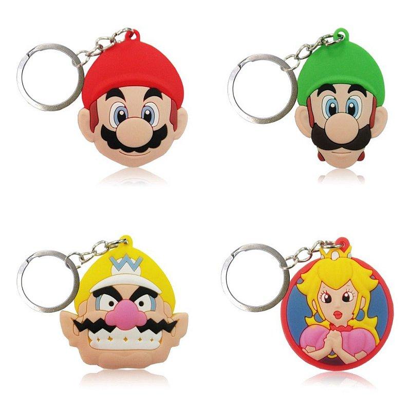 Chaveiro Emborrachado - Mario Bros