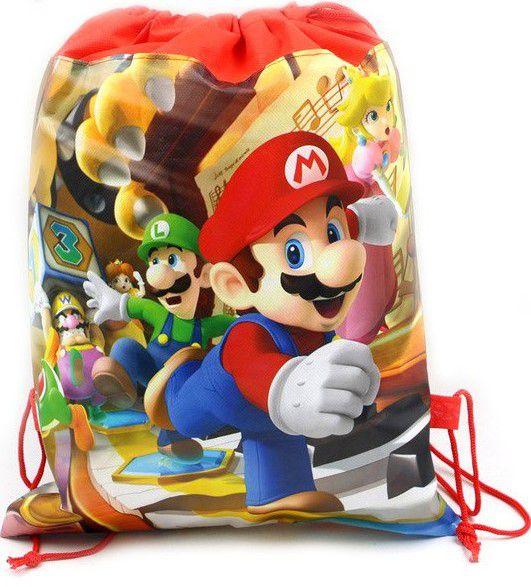 Mochila Super Mario de cordão