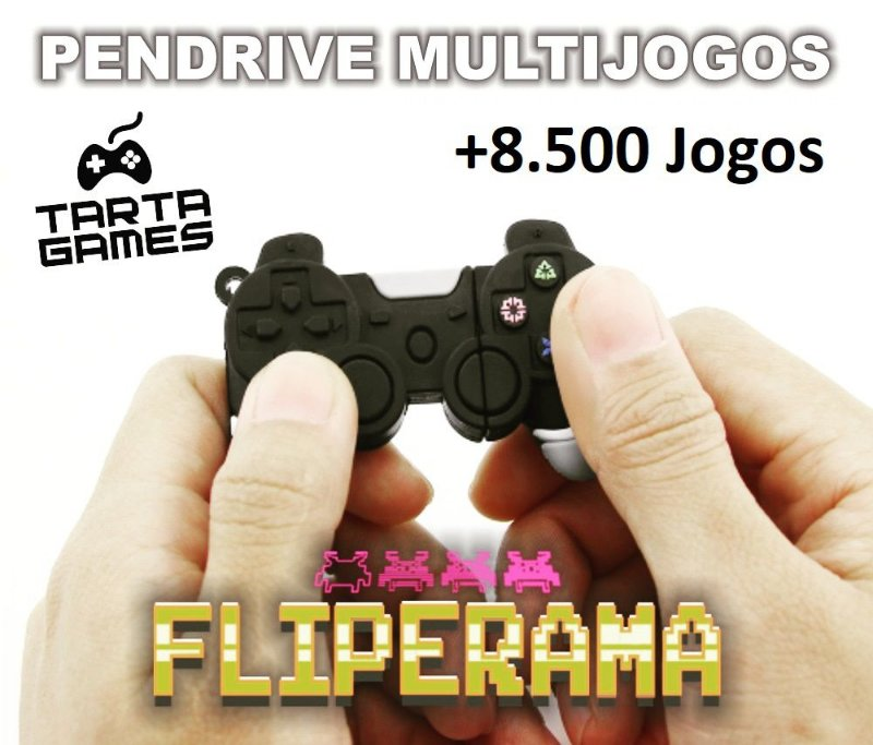 Pendrive 8.500 Jogos (PC / Notebook / Windows)