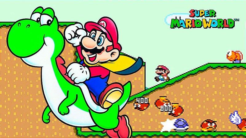 Super Mario World - Jogar Online Grátis
