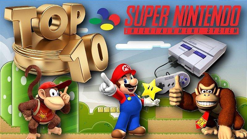 Clássicos do Super Nintendo: Top 10 Jogos de SNES (Download Grátis para Windows)