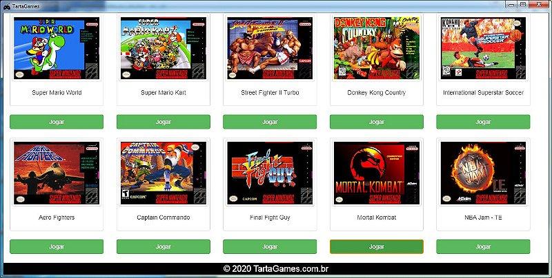 Gerador de Sistema Retrô para Windows - Escolha os seus Jogos de Super Nintendo [Download Grátis]