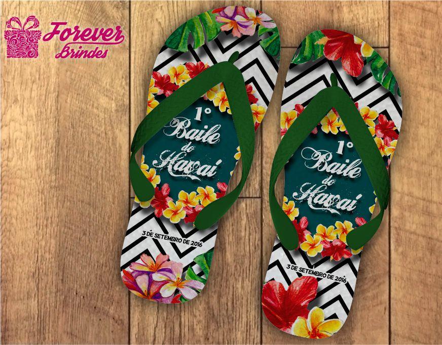 0a7762595b Chinelo Festa Havaiana Listrado - FOREVER BRINDES