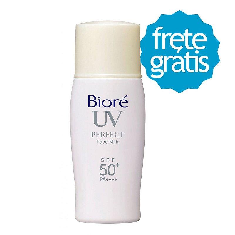 Protetor Solar Bioré Uv Perfect Face Milk - Frete Gratis