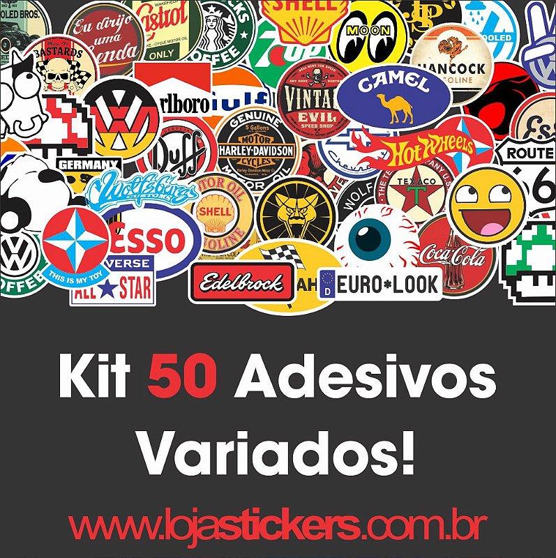Kit 50 unidades Variados