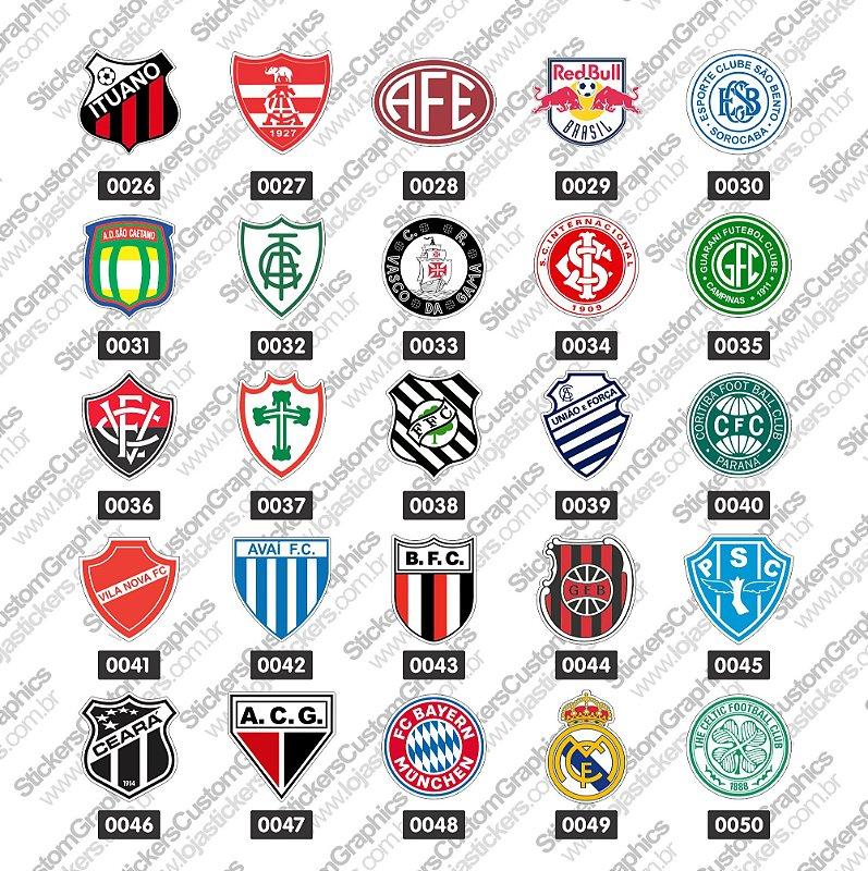 Adesivos Futebol 2