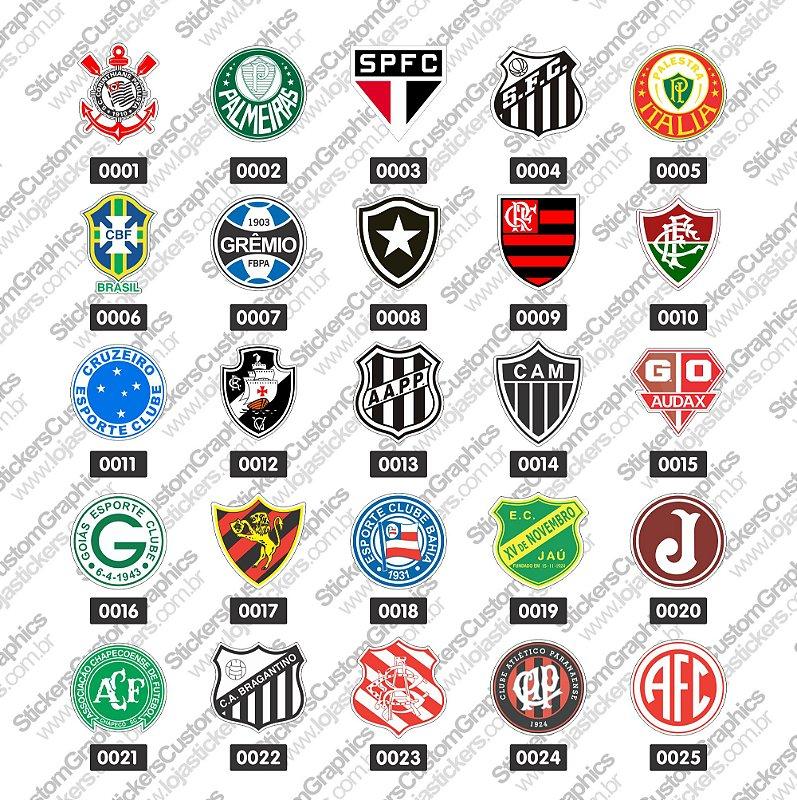 Adesivos Futebol 1