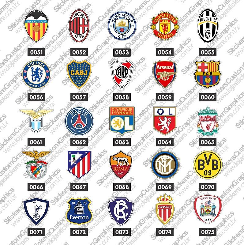 Adesivos Futebol 3