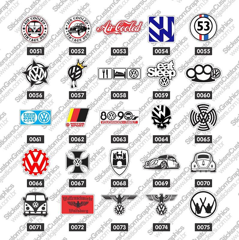 Adesivos Marcas de Carros 3