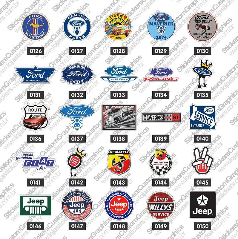 Adesivos Marcas de Carros 6