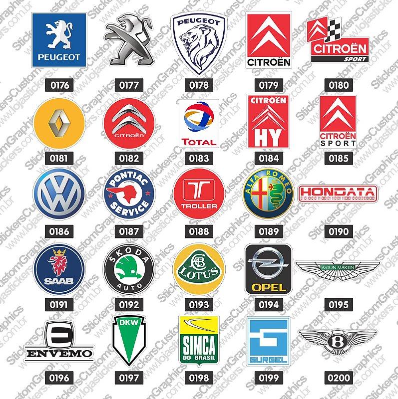 Adesivos Marcas de Carros 8