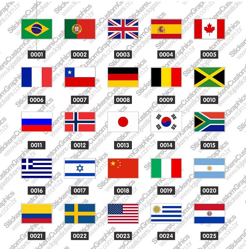 Adesivos Bandeira 1