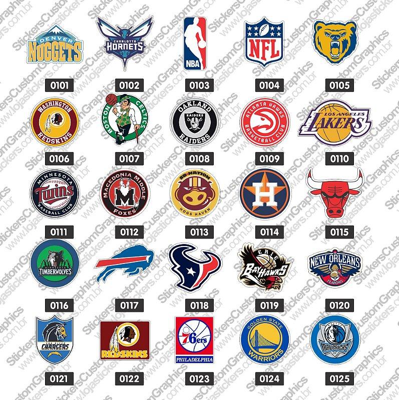 Adesivos Times e Esportes 5