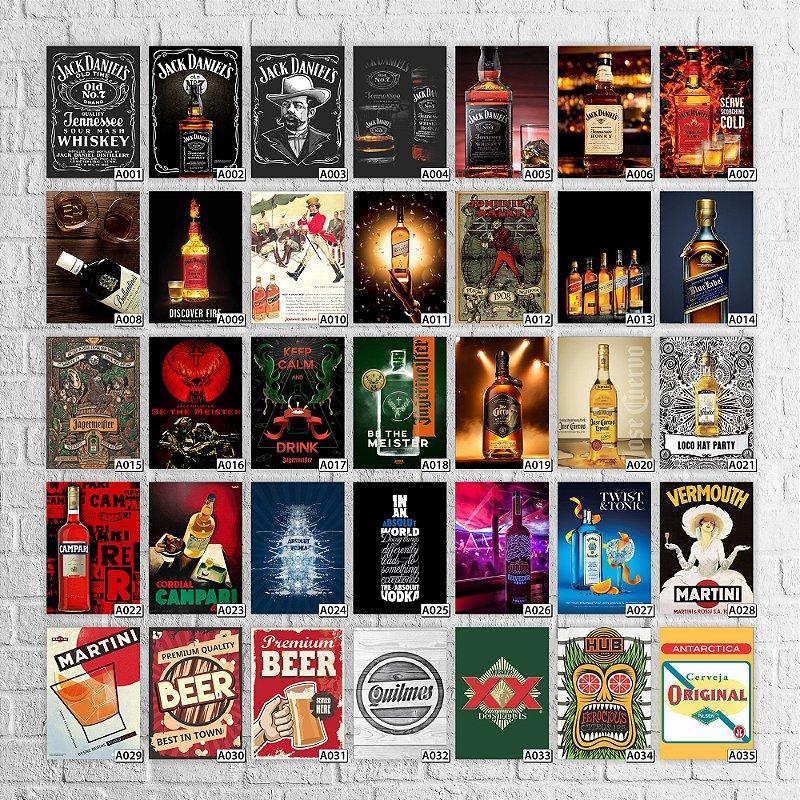 Placa Bebidas