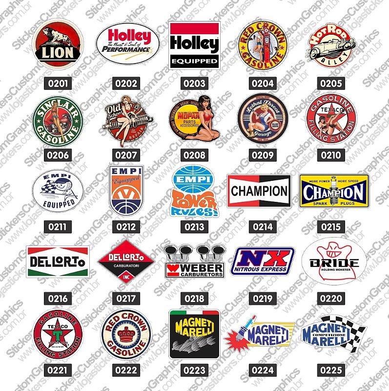 Adesivos Brands & Customs 9