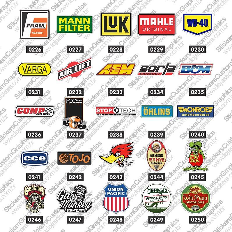 Adesivos Brands & Customs 10
