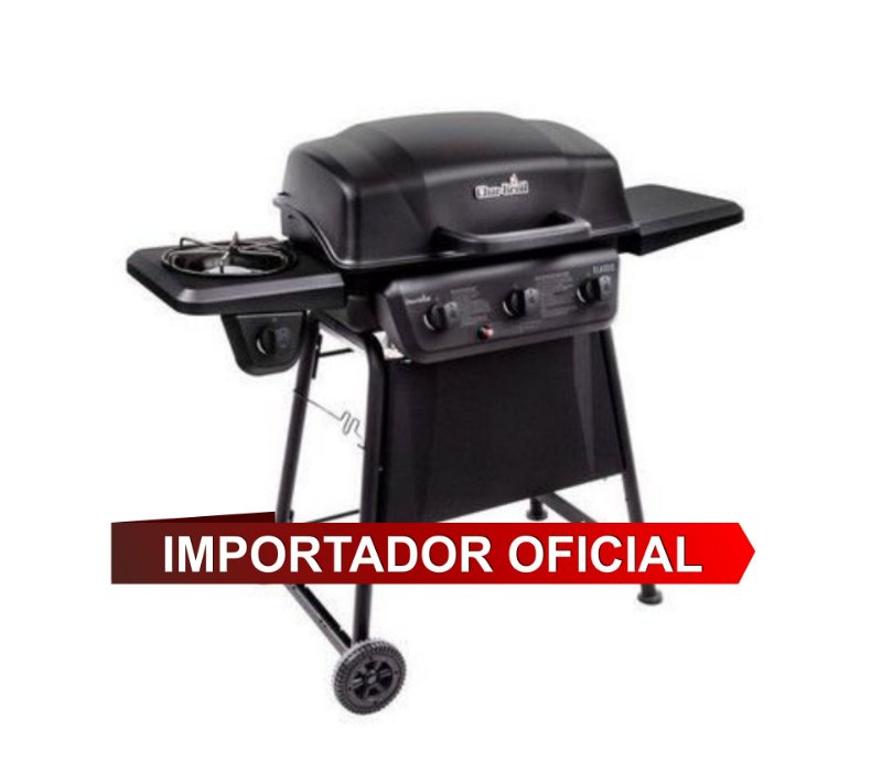 Char-Broil Quickset 3Q - Churrasqueira a gás