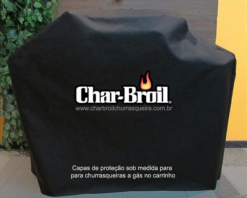 Capa proteção Char-broil - Advantage Inox 3B - Carrinho