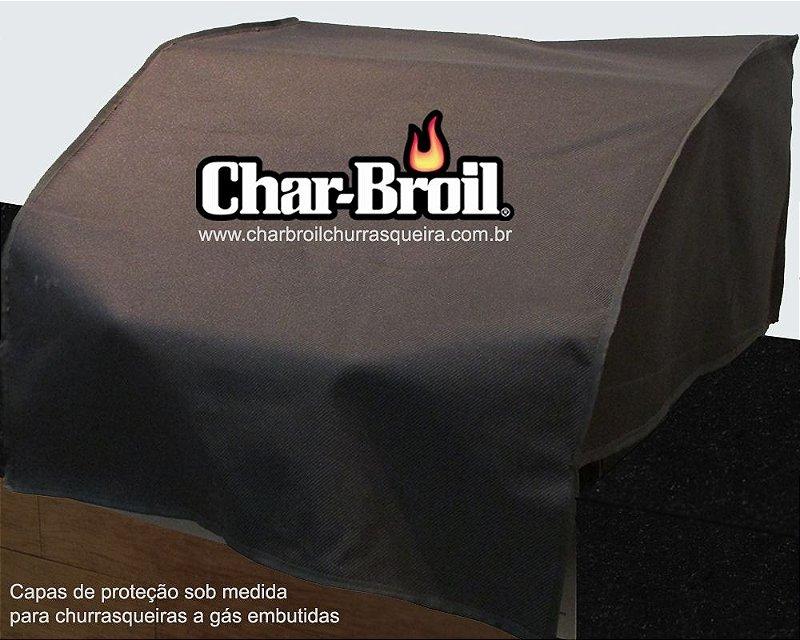 Capa proteção Char-broil - Advantage Inox 3B - Embutida