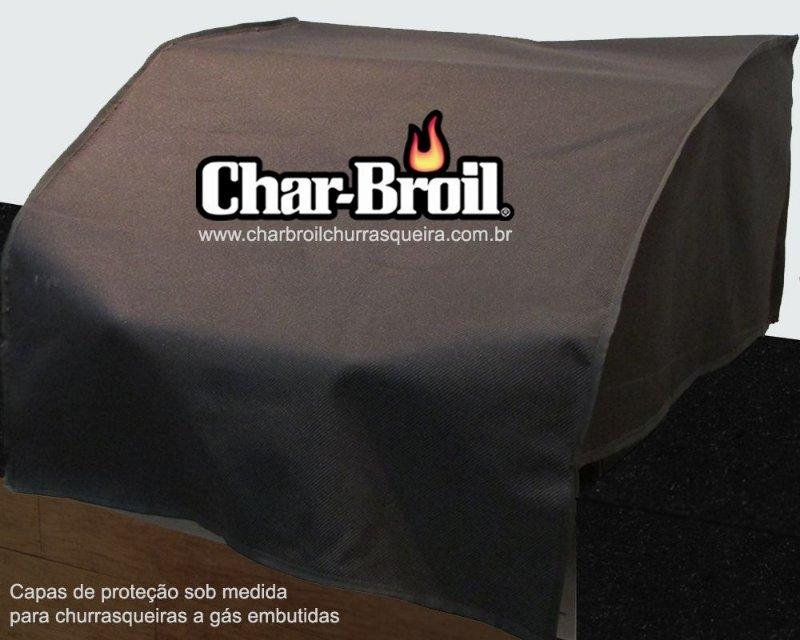 Capa proteção Charbroil - Design BR / Classic BR - Embutida